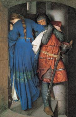 Meeting on the Turret Stairs by Frederick William Burton