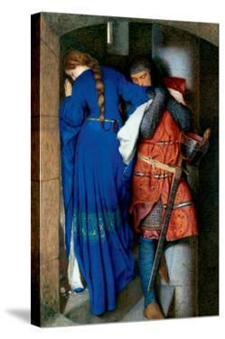 Meeting on Turret Stairs by Frederick William Burton
