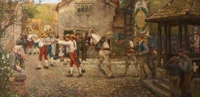Rush Bearing at Middleton, Rochdale, Lancashire, 1900–-18