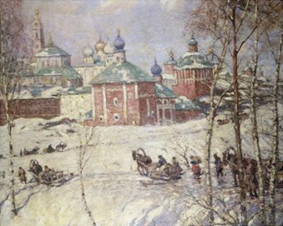 The Kremlin, Moscow, Russia, in Winter