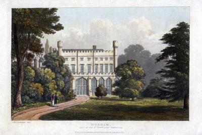 Wonham, Surrey, Seat of Lord Templeton, C1827