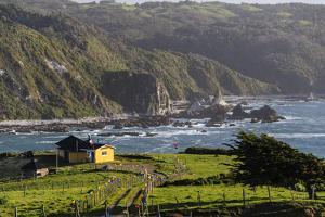 Coastal View, Punihuil, Chiloe, Region Los Lagos, Chile by Fredrik Norrsell