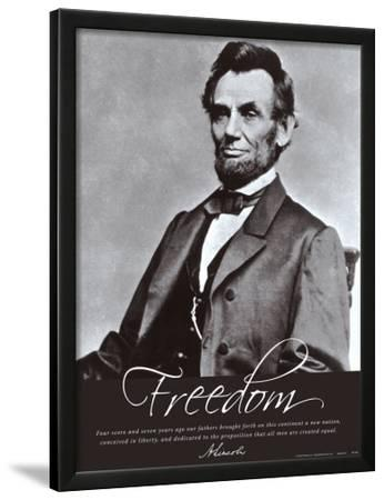 Freedom: Abraham Lincoln