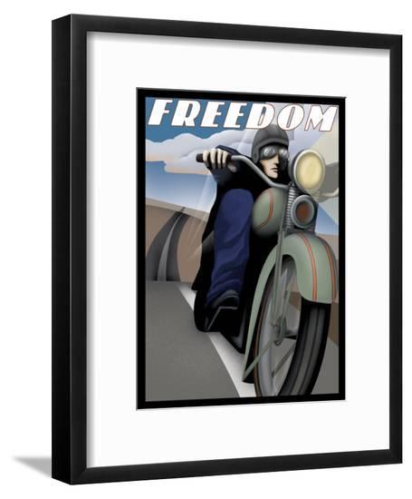 Freedom Rider--Framed Giclee Print