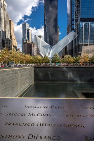 Freedom Tower and Oculos - seen from World Trade Center, NY, NY