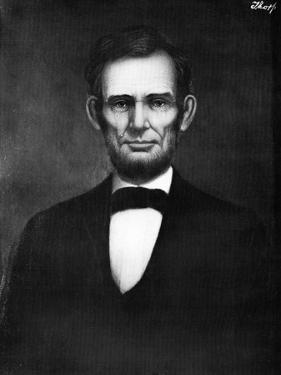 Abraham Lincoln, 16th President of the United States by Freeman Thorp