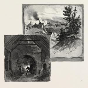 French Canadian Life, St. Maurice Forges, Canada, Nineteenth Century