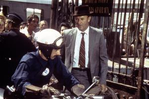 FRENCH CONNECTION II by JohnFrankenheimer with Gene Hackman, 1975 (photo)