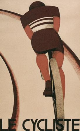 French Cycling Poster, Le Cycliste