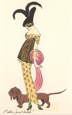 French Fashion, Dachshund
