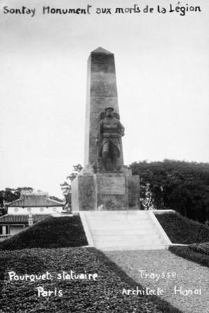 French Foreign Legion Monument, Sontay, Vietnam, 20th Century