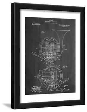 French Horn Instrument Patent