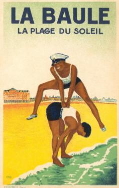 French Leap-Frog on the Beach