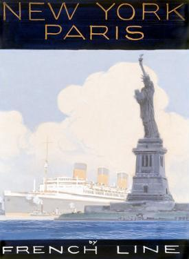 French Line, New York to Paris