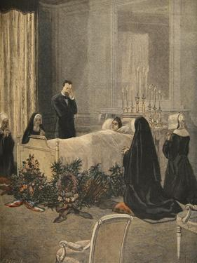 Madame Carnot on Her Deathbed, Illustration from 'Le Petit Journal: Supplement Illustre' by French