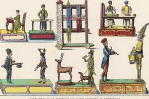 French Mechanical Toys