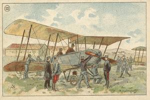 French Military Biplane