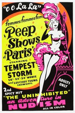 French Peep Show, 1954
