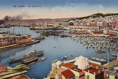 Alger - General View by French Photographer