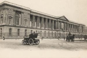 Colonnade, Louvre, Paris, 1910 by French Photographer