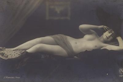 French Cabaret Dancer by French Photographer