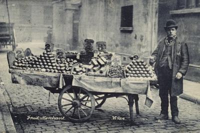 Fruit Merchant by French Photographer