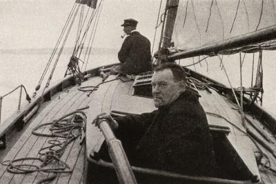 Hilaire Belloc in His Boat