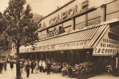 La Coupole, Montparnasse, Paris by French Photographer