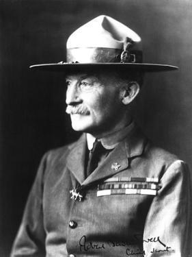 Lieutenant General Sir Robert Stephenson Smyth Baden-Powell (1857-1941) by French Photographer