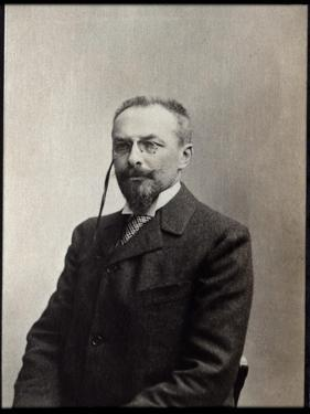 Portrait of Jules Mary (1851-1922), French writer by French Photographer