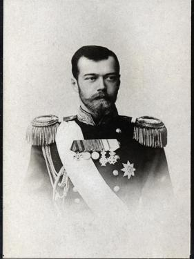 Portrait of Nicholas II of Russia (1868-1918), Emperor of Russia by French Photographer