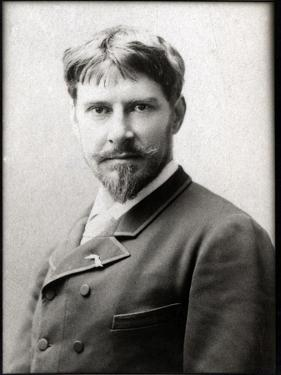 Portrait of Paul Mounet (1847-1922), French actor by French Photographer