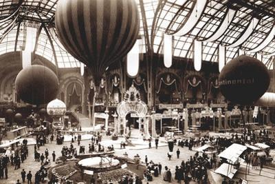 Salon Aeronautique, Grand Palais, 1912 by French Photographer