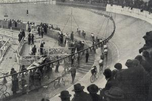Six Day Race, Paris, 1927 by French Photographer