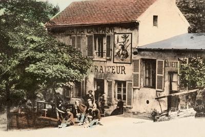 The Lapin Agile, Butte Montmartre, Rue Des Saules, Paris, C.1900