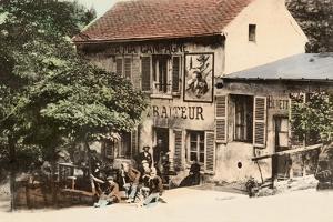 The Lapin Agile, Butte Montmartre, Rue Des Saules, Paris, C.1900 by French Photographer