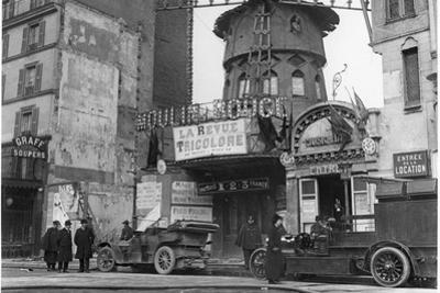 The Moulin Rouge, 1914-18 by French Photographer