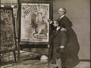 Toulouse-Lautrec with Tremolada, from 'Toulouse-Lautrec' by Gerstle Mack, Published 1938 by French Photographer