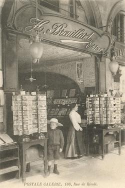 French Postcard Shop