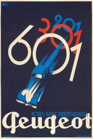 French Poster for Peugeot