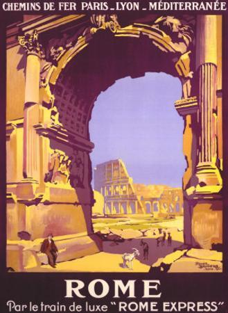 French Railway Travel, Rome Express