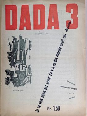 Revue Dada No.3, December 1918 (Colour Litho) by French