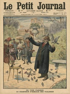 A Parisian Type, the Bird Charmer of the Tuileries by French School