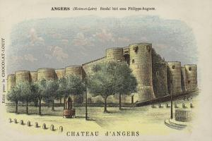 Chateau D'Angers, Angers, Maine-Et-Loire by French School