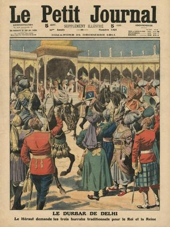 Delhi Durbar, Illustration from 'Le Petit Journal', Supplement Illustre, 24th December 1911 by French School