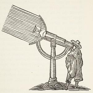 Dioptric Telescope, Copy of an Engraving by Boris Mestchersky by French School