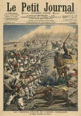 Elite Troops of French Army, French Foreign Legion in Morocco by French School