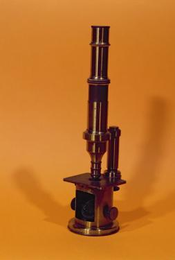 Microscope Belonging to Louis Pasteur by French School