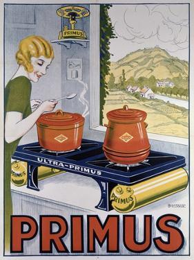 Poster Advertising the Primus Hob, Printed by Dampenon and Elarue by French School