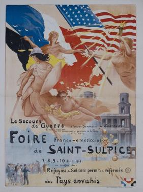 French World War One Poster